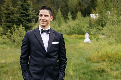 Girdwood Destination Wedding: Regina & Yuriy at George Glacier and Around Girdwood by Joe Connolly