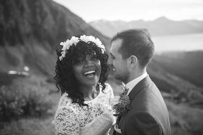 Girdwood Destination Wedding: Crystal & Dustin at Alyeska Resort by Joe Connolly