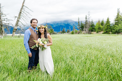 Girdwood Destination Wedding: Crystal & John by Lena Stevens