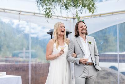 Girdwood Wedding: Sarah & Josh at Crow Creek Mine and Around Girdwood by Joe Connolly