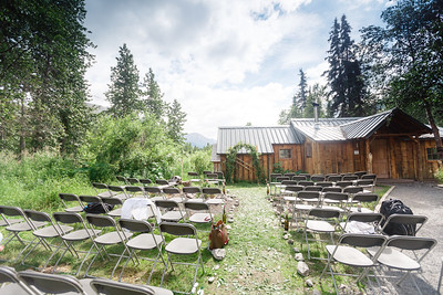 Summit Lake Area Wedding: Heather & Jordan at Manitoba Cabin by Jonathan Gurry