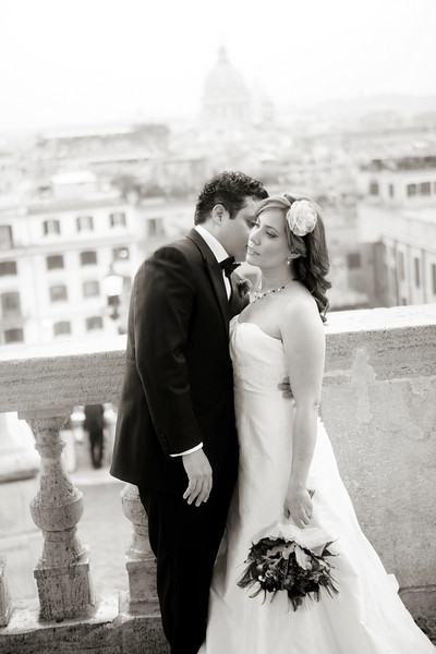 Jorge and Melissa's Rome Wedding