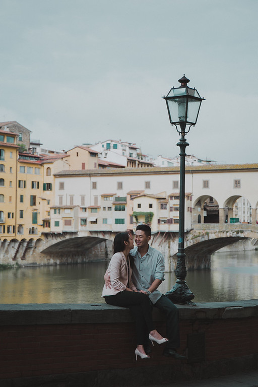"""<div style=""""text-align: center;padding: 0px 0px 0px 0px;font-size:13px; font-family:arapey; letter-spacing:2px; line-height: 23px;"""">Destination engagement + Wedding  <br> Florence, Italy </div>"""