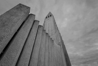 Hallgrimskirkja - Reykjavik Iceland 2016