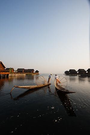 Inle Fishermen 50