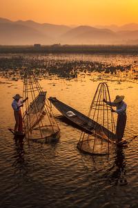 Inle Fishermen 03