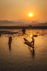 Inle Fishermen 02