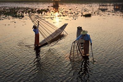 Inle Fishermen 06