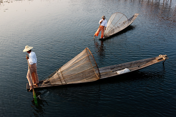 Inle Fishermen 35