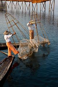 Inle Fishermen 24