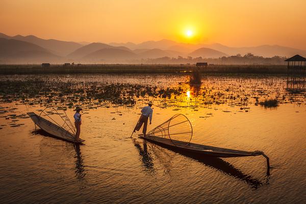 Inle Fishermen 01