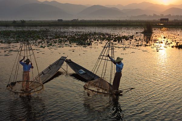 Inle Fishermen 07
