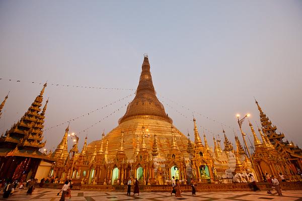 Shwedagon Pagoda 19