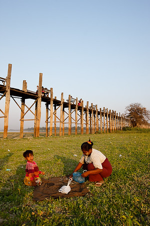 U Bein Bridge 19
