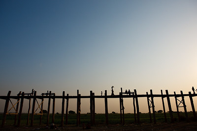 U Bein Bridge 12