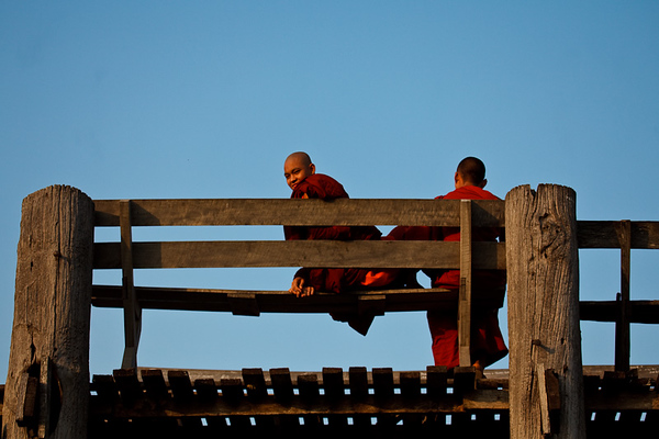 U Bein Bridge 16
