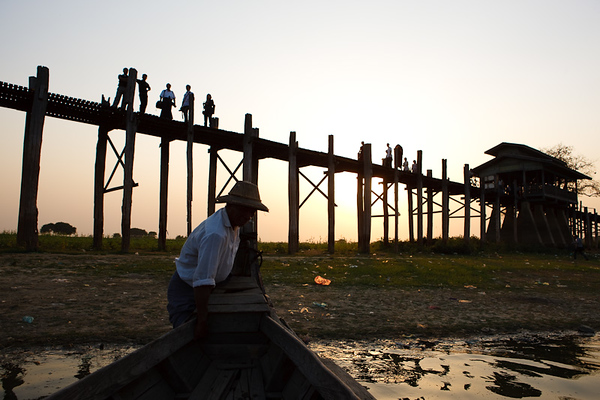 U Bein Bridge 36
