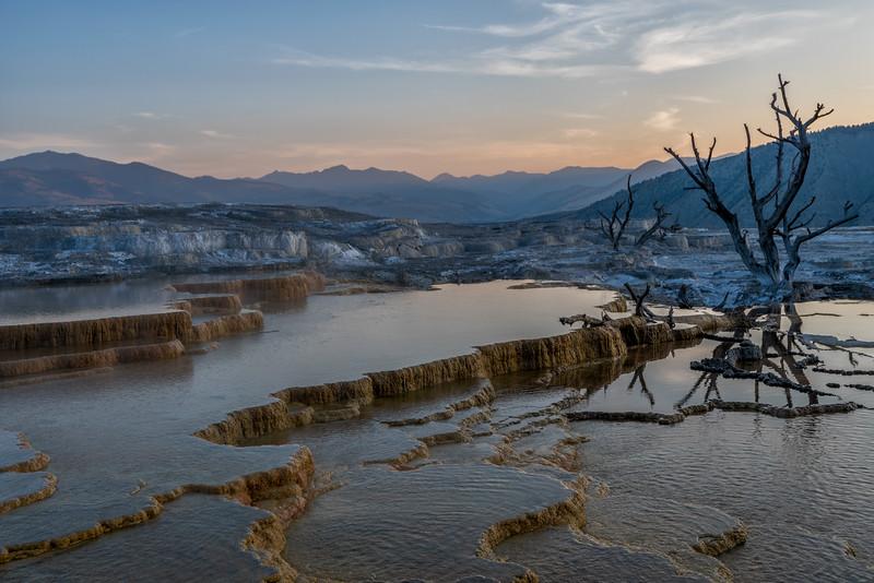 Calm Morning - Yellowstone 2017