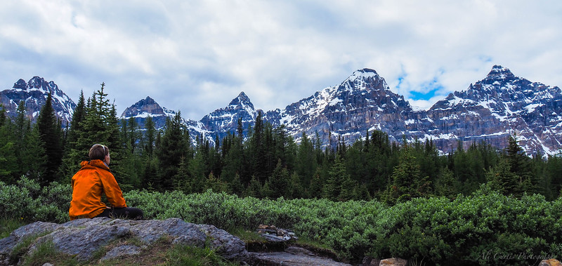 Larch Valley Meadow, Lake Moraine, Banff