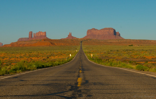 Mile Marker 13, Monument Valley, Utah