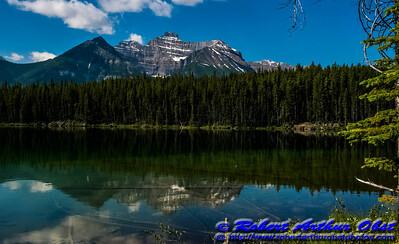 DWS-NPAM_8361_CAN.AB.Banff.ATO.WestUSACanada2014-BanffNationalPark.CanadianRockiesReflectionsOverHerbertLakeAlongIcefieldsParkway-B (DSC_8361.NEF)