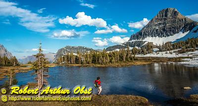 DWS-Hiking_7222_ATO.WestUSACanada2014-USA.MT.GlacierNP.LoganPassAreaMountains.HikerSkippingStones-B (DSC_7222.NEF)