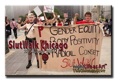 23 august 2014 Slutwalk