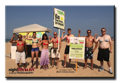 24 august 2014 Go Topless Day
