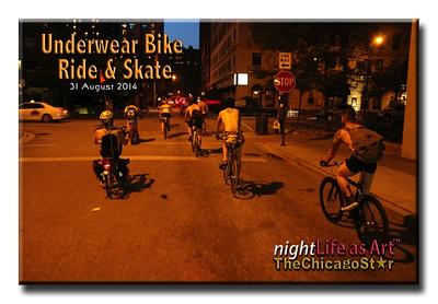 31 august 2014 Underwear Bike Ride & Skate