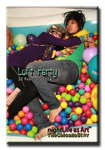 22 feb 2014 loft party