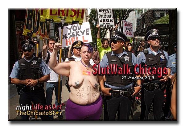 22 August 2015 Slutwalk Chicago