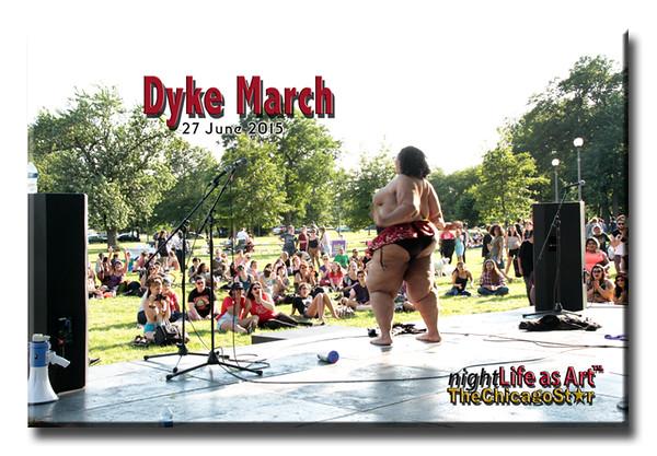 27 June 2015 Dyke March