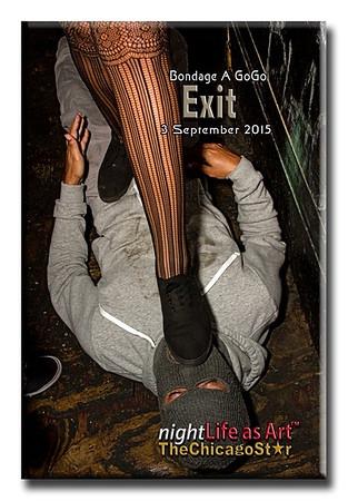 3 September 2015 Bondage A Go Go at Exit