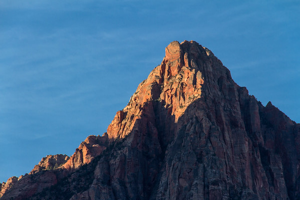 Watchman at dawn - Zion National Park