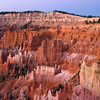 Bryce Canyon just before dawn.