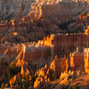 Bryce Canyon National Park at sunrise.