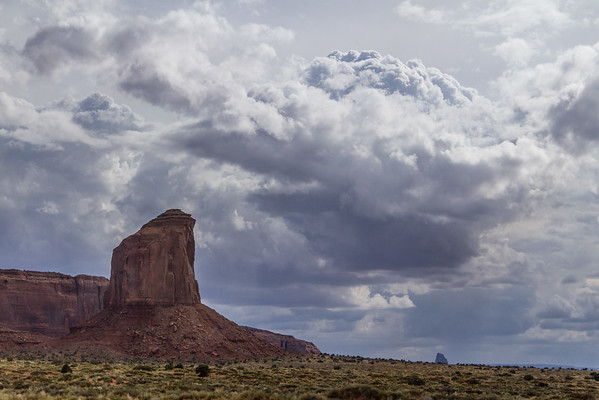 Near (but not in) Monument Valley, Arizona