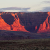 Vermilion Cliffs at dawn.