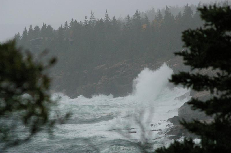 Stormy seas!