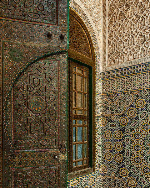 Inside the abandoned kasbah