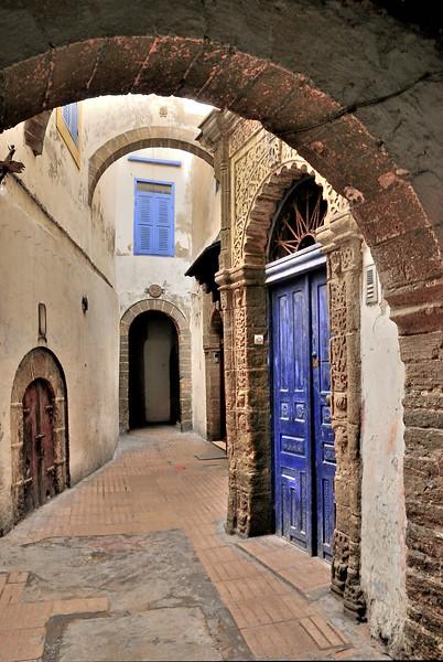 Old doors, Essaouria, Morocco