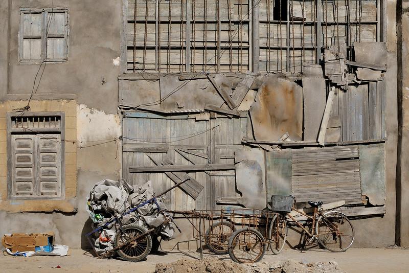 Off the tourist track in Essaouria, Morocco