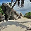 La Digue beach path