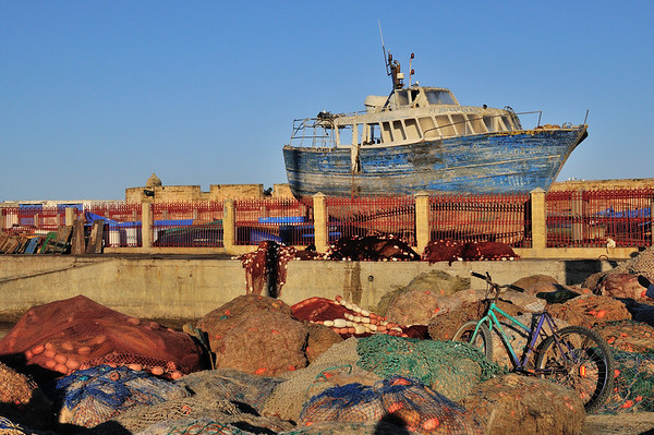 Multimodal Morocco - In the Harbor