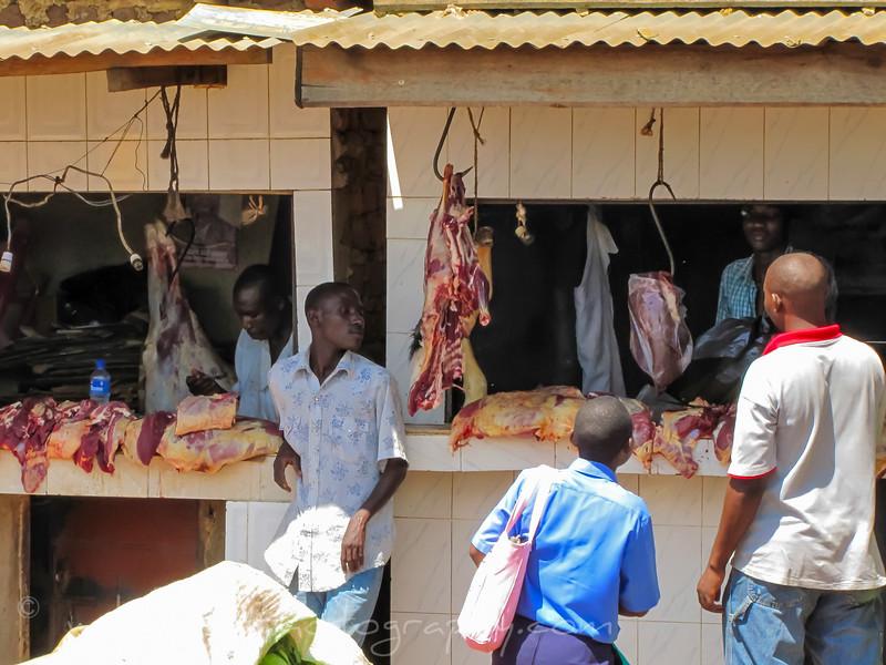 Butcher shop Rwanda