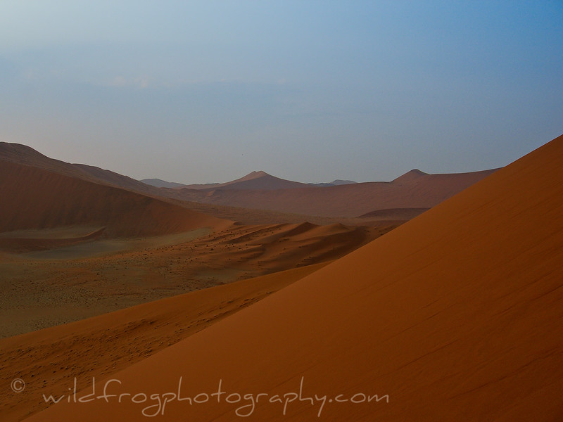 Sand dunes Sossusviei