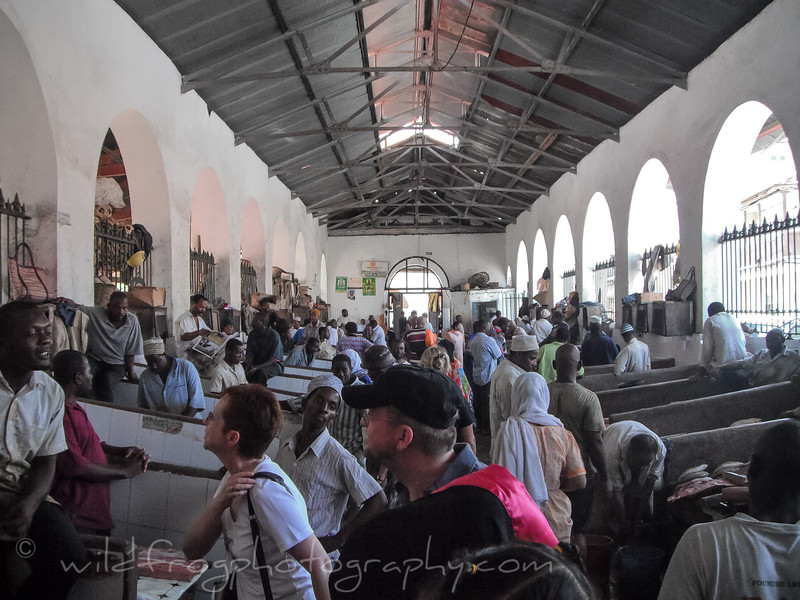 Fish market Zanzibar