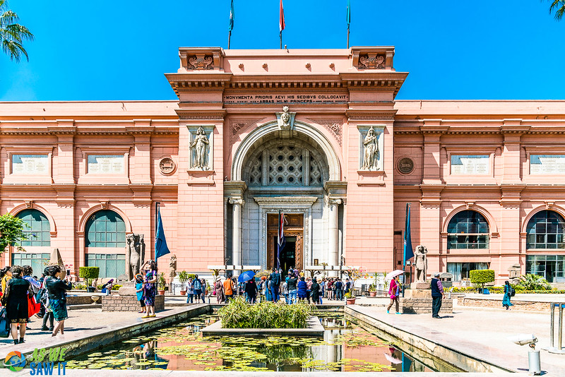 Egyptian Museum in Cairo, Egypt