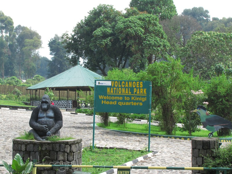 National Parks HQ in Rwanda