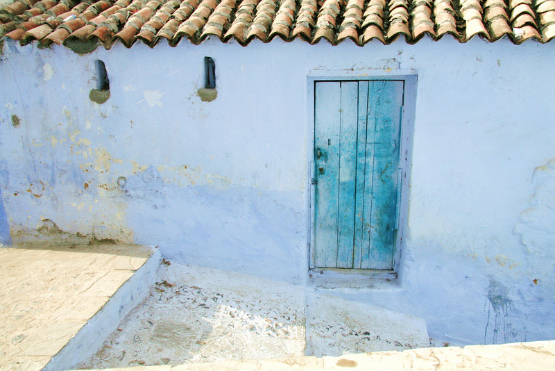 What's behind the Blue Door